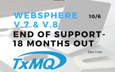 WebSphere v.7 & v.8 End of Support – 18 Months Out