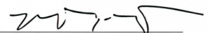 Miles Roty's Signature