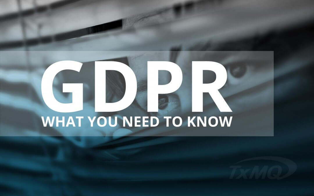 What you need to know about GDPR